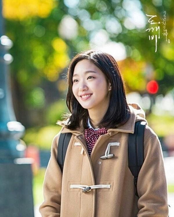 The Lonely and Great God Korean Drama Style  Kim Go-Eun Coat Hoodie Goblin